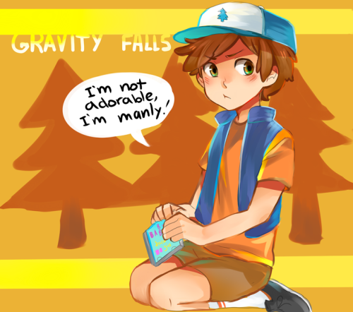 Day 6- Dipper from Gravity Falls. He was fun to draw!