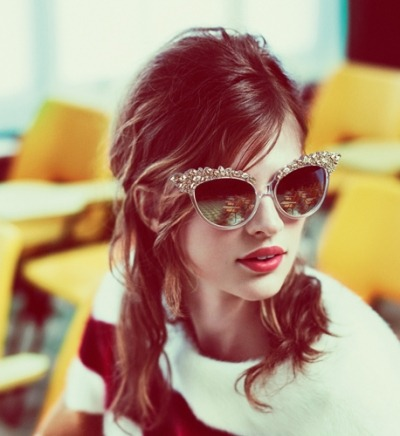 DSquared2 F/W 12.13 Campaign by Mert & Marcus - Love these sunglasses!