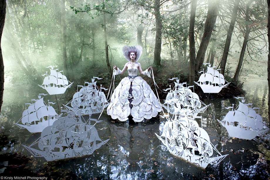 These photos by Kirsty Mitchell are AMAZING! Check out more here: Wonderland: The Story Behind Beauty's Fairy Tale Portraits