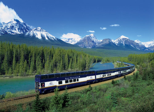 luxury train vacation