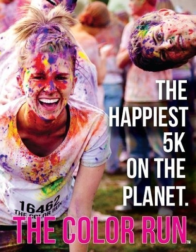 I want to do this so badly. Has anyone done the color run? I love the fun 5ks.