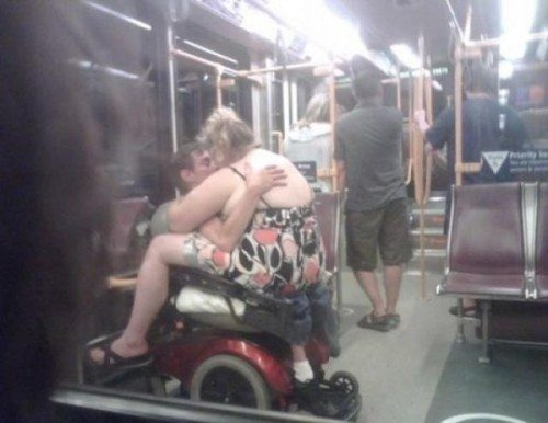 Meanwhile on the subway….