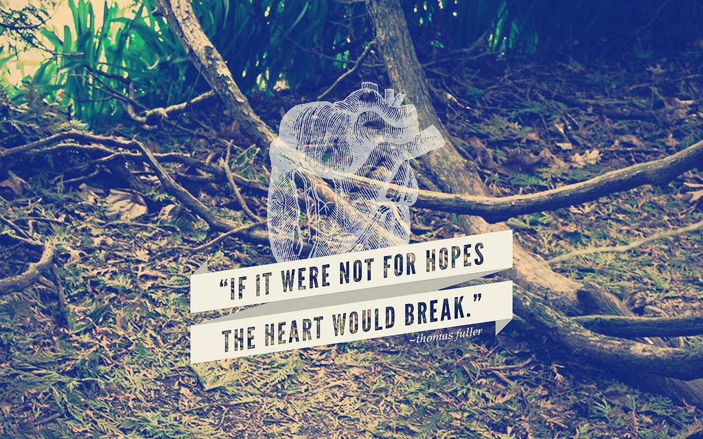 by9:  If it were not for hopes the heart would break. (by mary.fran)