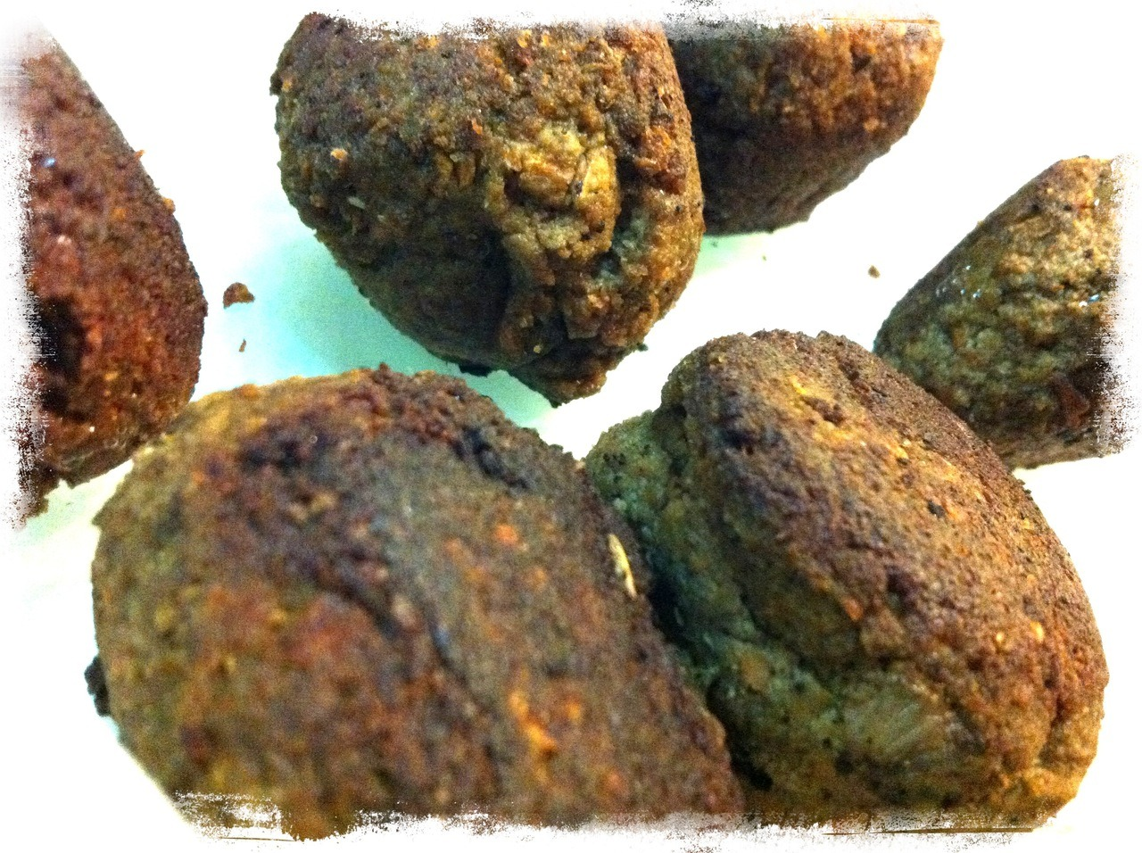 "Husband's Breakfast: Ugly Yummy Carrot Onion Liver ""Meat""balls (aka Man Food)"