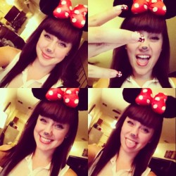 hii. i'm minnie mouse.