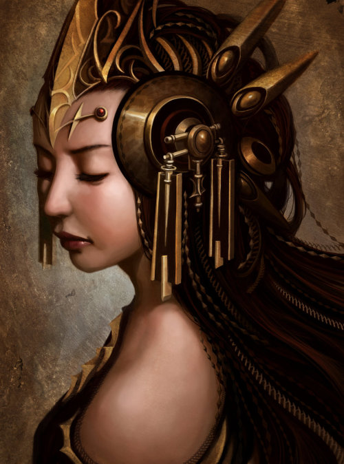 lohrien:  Empress by *Luches