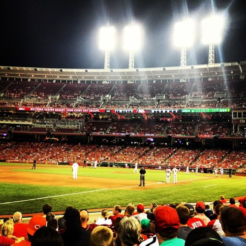 home of the #reds.  (Taken with Instagram)