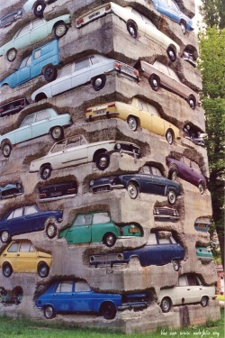 """Long Term Parking"", 1982, Arman"