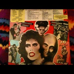 Vinyl picture record rocky horror picture show (Taken with Instagram)