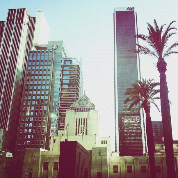 #vscocam #dtla #cityscapes #igla #igersla #instagood #instamood #instahub #igaddicts #igdaily  (Taken with Instagram at Downtown Los Angeles)