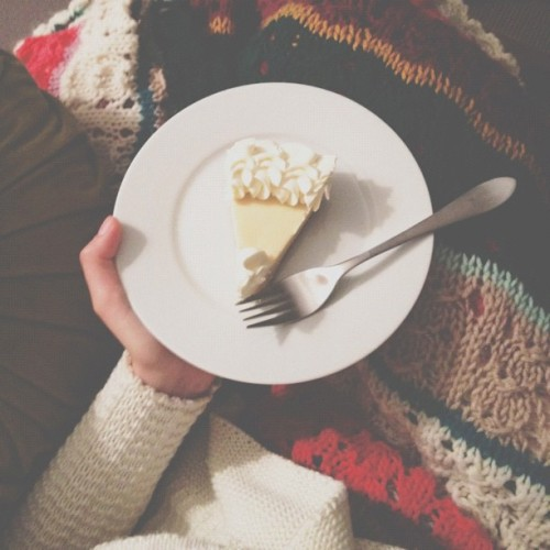 Key lime pie, tea and watching The Vow. Best husband ever. (Taken with Instagram)