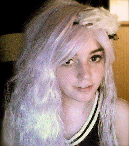 I got a wig from Gothic Lolita Wigs and my dad told me I look like I'm 50.