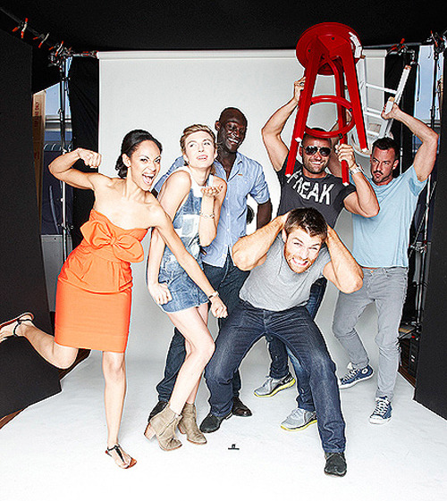 Spartacus Comic-Con Cast Portrait by Jason O'Dell