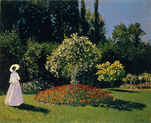 Claude Monet, Woman in a Garden, 1867.