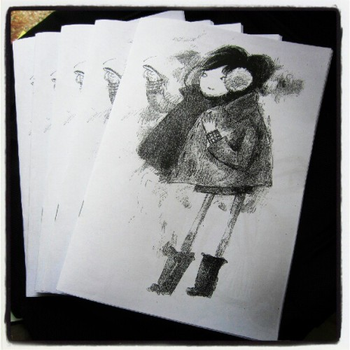 Get your copies now ! At optimoo.com #zine #artzine #limitededition #drawing  #webstagram #forsale  (Taken with Instagram)