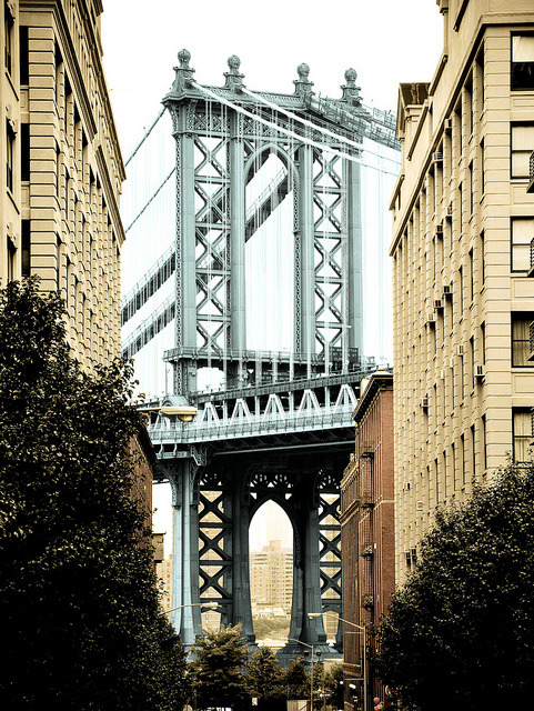 Manhattan Bridge via SurrealPlaces