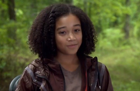 (image) Amandla Stenberg as Lizzie. Submitted by shireenstark
