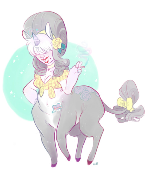 theveryworstthing:  day 2 centaur. she's half donkey centaur, half unicorn centaur. her name is Rosa Destello-Princess and she lives way out in the boonies somewhere. daddy was a traveler out on the road living the rough life, momma was a beauty queen. they met at a cupcake cook-off. she's got her daddy's lovely locks and purple tint, and her mamma's beautiful buck teeth and ability to kick you apart. someone take this tablet away from me i am very tired.