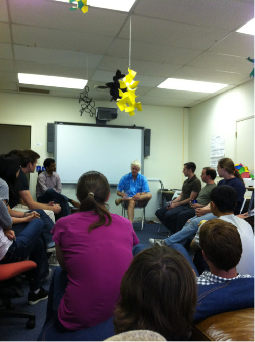 The dev team hung out with Peter Norvig yesterday afternoon and picked his brain about Google, education, CS and more!