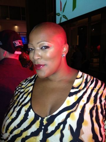Frenchie Davis at the AfterEllen.com Hot 100 Party