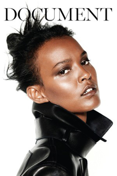 Feed Your Eyes: One of my fav models Liya Kebede for Document Magazine