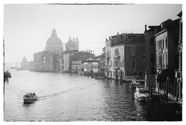 Venice in 35mm Leica M6 + 50mm F2 summicron + Fuji 400H converted to BW
