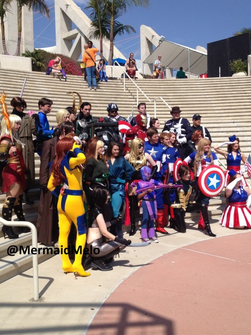 hiddle-my-fiddle:  Absolutely amazing Marvel cosplay  As one of the many, thank you! :D