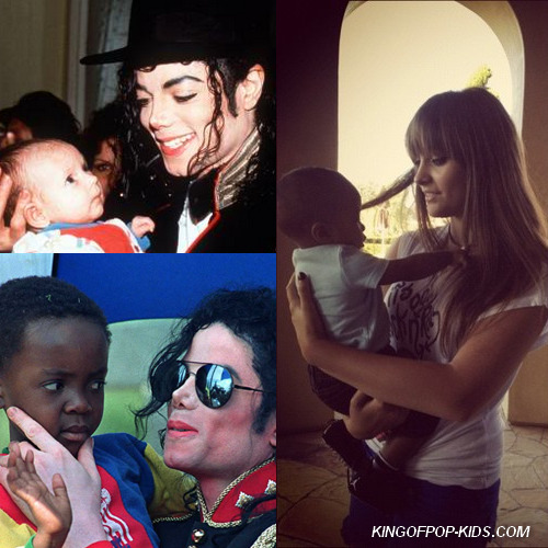 kingofpop-kids:  Like father like daughter @ParisJackson & @MichaelJackson
