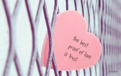 The best proof of love is trust.  http://weheartit.com/entry/32812578