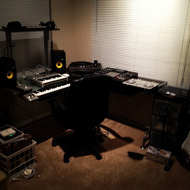 Got most of the #lab setup! #music #studio #work (Taken with Instagram)