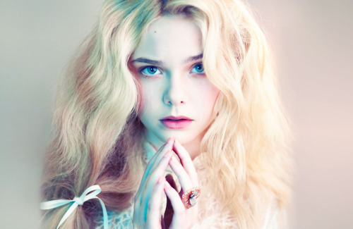 Elle Fanning for Love Magazine