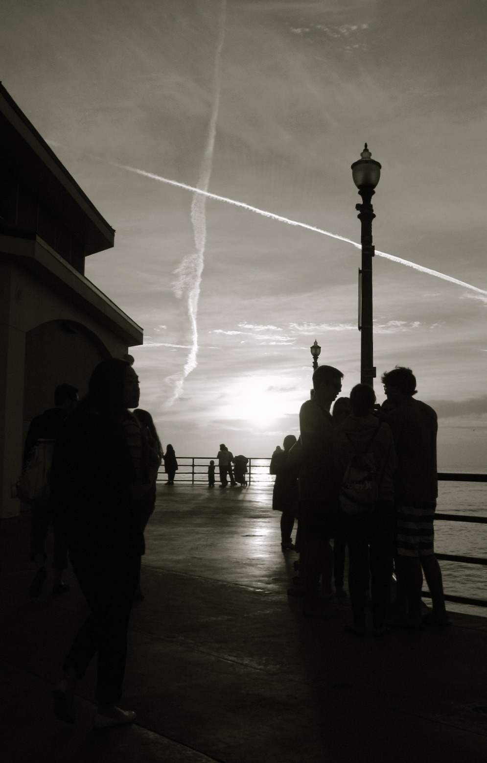Taken at Huntington Beach Pier, California.