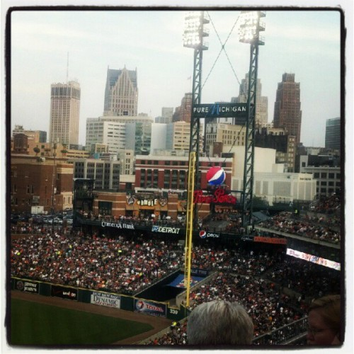 GO TIGERS! #Detroit   (Taken with Instagram)