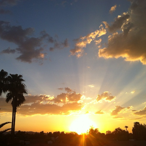 thefifthjohn:  No need for a filter, this will never get old. AZ. (Taken with Instagram)
