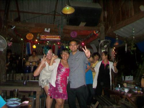 there is nothing quite like dancing it out at a rural thai bar.
