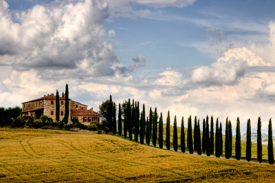 ysvoice:  | ♕ |  Casa in collina - Terre Senesi, Tuscany  | by © Luigi Cavasin