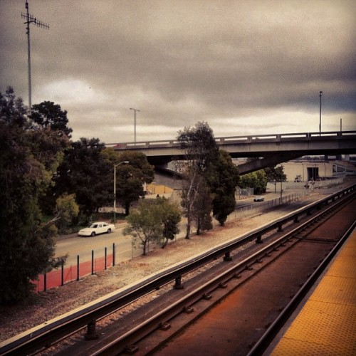 Life on a train #oakland #bart (Taken with Instagram)
