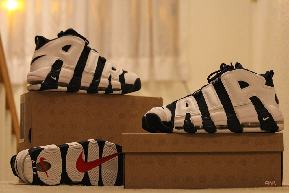 Double up.. Nike Air More Uptempo