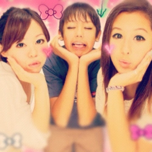 Kawaii queens. (Taken with Instagram)
