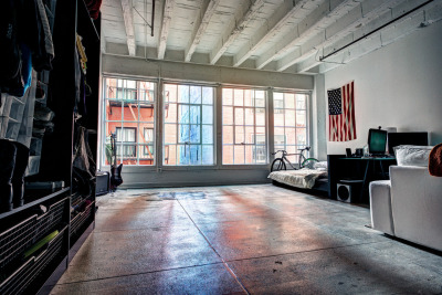 Another HDR photo of my loft at Santee Court in DTLA. I'm going to be using the open space as a photo studio. It's wide and deep enough for a full-size seamless.