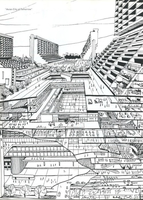 "arquicomics:  ""Asian Cities of Tomorrow"", from SMLXL"