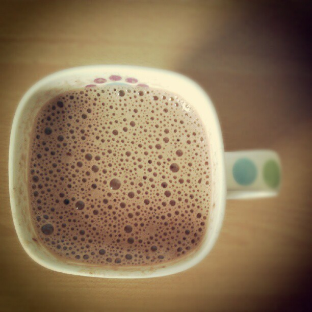 Hot chocolate to start the day :) (Taken with Instagram)