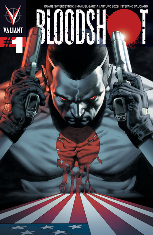 Valiant (Re)visions: Bloodshot #1 [Review]  Last week saw the premiere of the third Valiant relaunch with Bloodshot #1, and that, of course, means David Harper and Chad Bowers are back with a brand new installment of Valiant (Re)visions. This all-new take on Bloodshot features a story by crime-novelist and former Birds of Prey writer Duane Sweirczynski with art by Manuel Garcia and Arturo Lozzi. Link