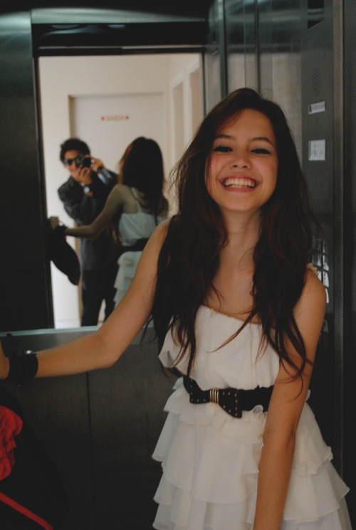vodkacupcakes:  Always reblog this, she looks so happy