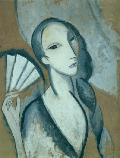 regardintemporel:  Marie Laurencin - L'Eventail, 1911