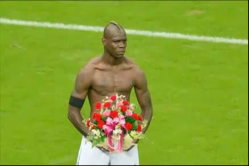 BaloTelli as The Maid of Honour