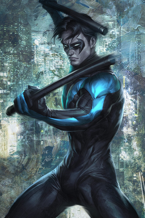 dcplanet:  Nightwing Art by Stanley Lau