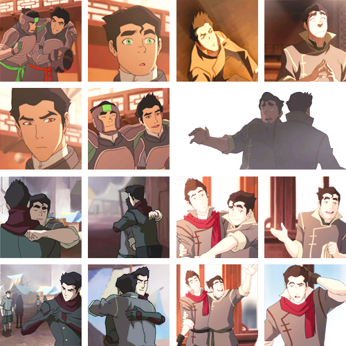makoandbolinbromotions:   Mako and Bolin bromotions all throughout the first season.  There will never be enough!!!!