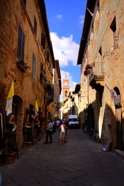 | ♕ |  Medieval passage of Montepulciano  | by © Luigi Cavasin | via ysvoice