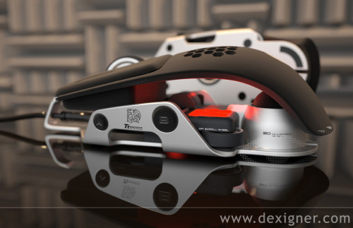 redscrapbook:  The Level 10 M Mouse by DesignworksUSA - Dexigner